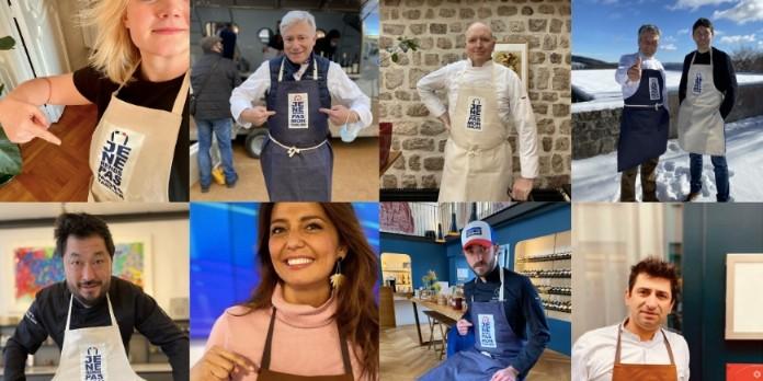 Un tablier solidaire pour soutenir les restaurateurs