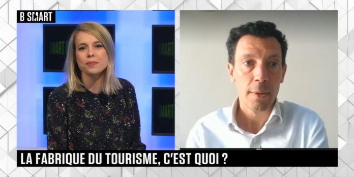 Smart impact 16 avril : Franck Gervais (Groupe Pierre & Vacances-Center), Alexandre Guerin et Johanna Wagner (La Fabrique du Tourisme) et Aimée de Jouffrey (Aimante Paris)
