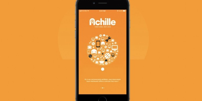 L'appli Achille Marketplace booste l'économie locale