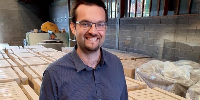 Étienne Gay (Briques Technic Concept) : 'La brique en terre crue, c'est le matériau idéal contre le changement climatique '