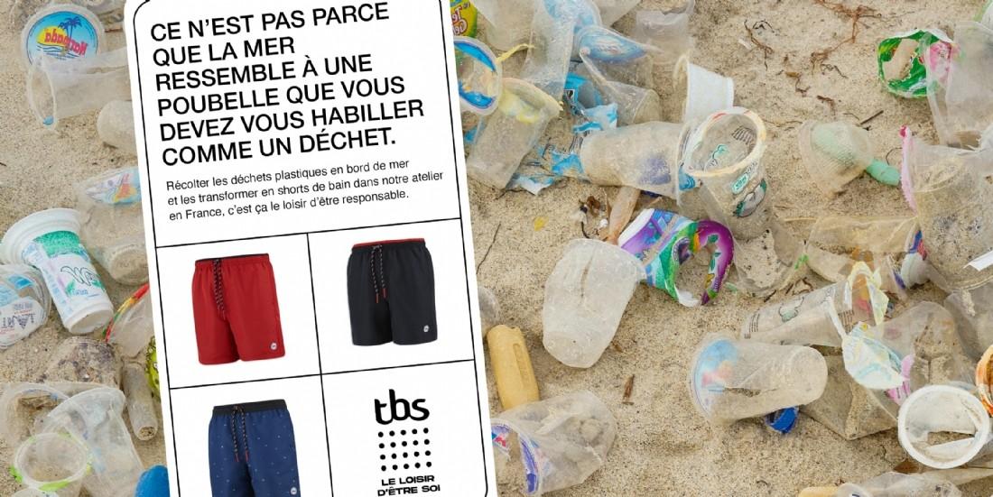 TBS recycle sa pub sur le recyclage