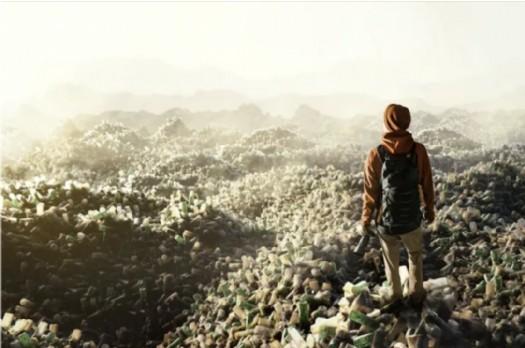 En 2020, au sein des pays de l'OCDE, 1700 millions de tonnes de déchets plastiques ont été envoyés illégalement à des pays tiers. Shutterstock