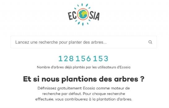 Les grands succès d'Ecosia à travers le monde