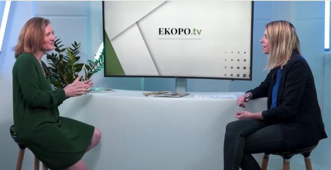 [EKOPO TV] 'Il a une accélération de la mobilisation contre la pollution plastique' Muriel Papin, DG de No Plastic In My Sea