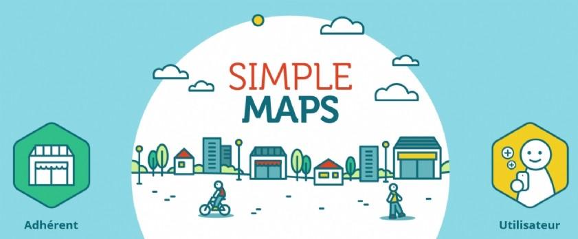 Simple Maps, l'appli qui géolocalise les commerçants responsables