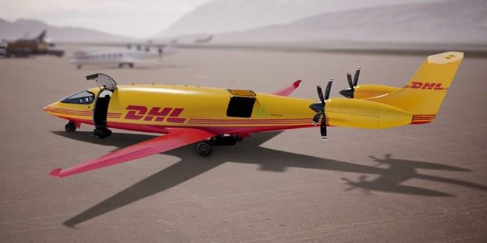 DHL investit dans des avions cargo électriques