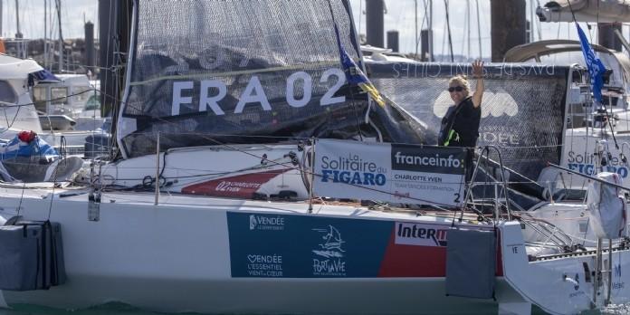 Charlotte Yven : jeune navigatrice engagée