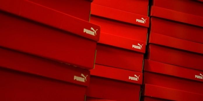 PUMA redessine ses boîtes à chaussures de façon plus durable