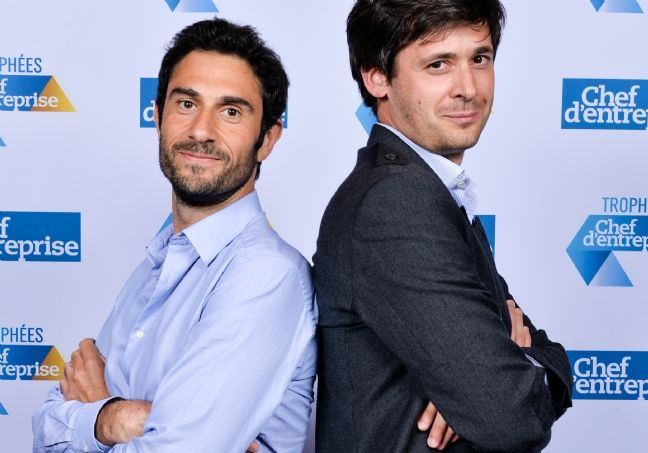 Nicolas Cohen (à g.) et Nicolas d'Audiffret