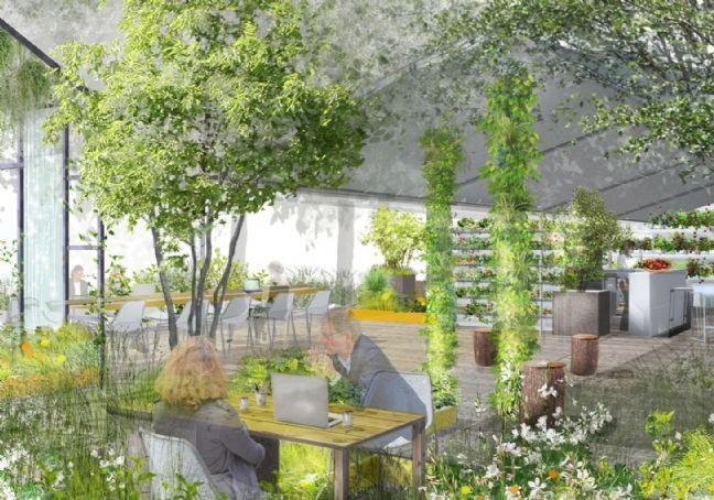 les jardins de gally pr sentent l 39 entreprise fertile. Black Bedroom Furniture Sets. Home Design Ideas
