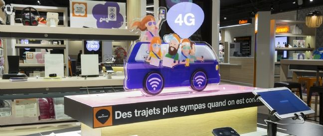 Retailoscope orange ouvre son concept smart store sur for Nouveau commerce en vogue