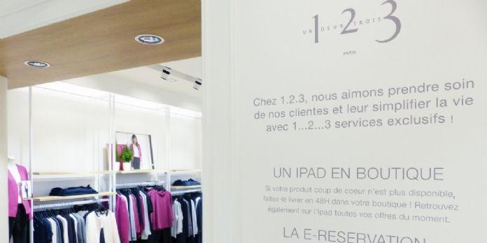 La nouvelle boutique phygitale 1.2.3 multiplie les services exclusifs