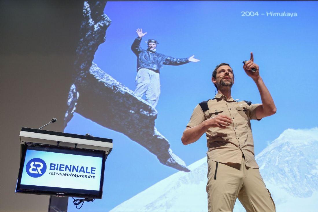 Olivier Soudieux, chef d'entreprise et aventurier de l'extrême.