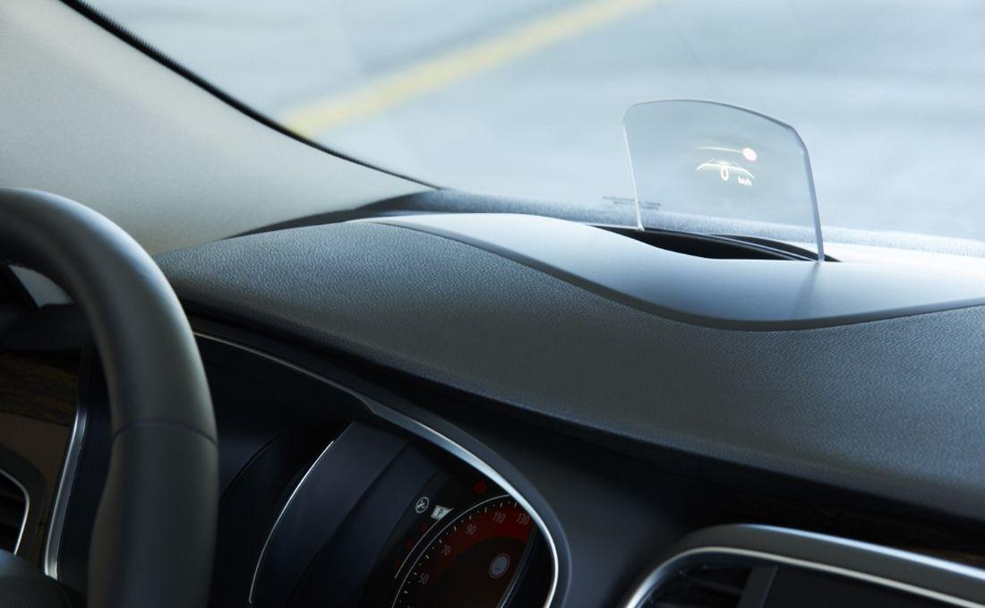Affichage tête haute de la Renault Talisman.