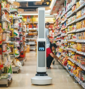 Les robots envahissent les magasins