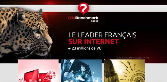 CCM Benchmark Group, filiale du groupe Le Figaro est le cinquième groupe  Internet en France. e2ea8d1b2d70