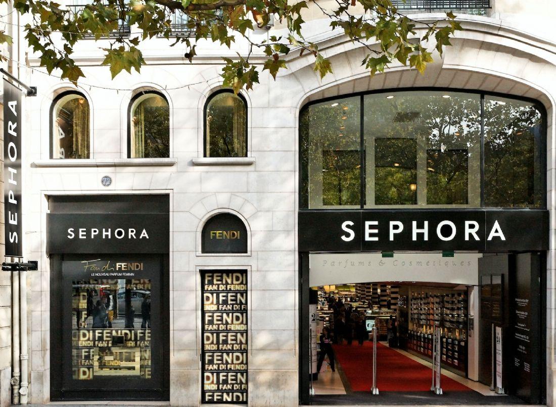 Go pro make up un comptoir de marque roulant chez sephora - Le comptoir des grandes marques ...