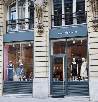 Envie de Fraise ouvre sa première boutique à Paris