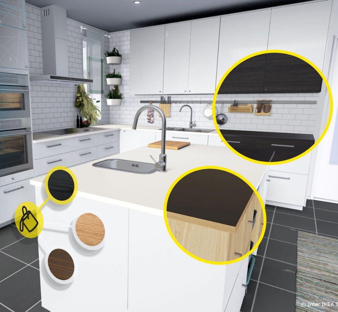 la r alit virtuelle au service de la vente en ligne. Black Bedroom Furniture Sets. Home Design Ideas