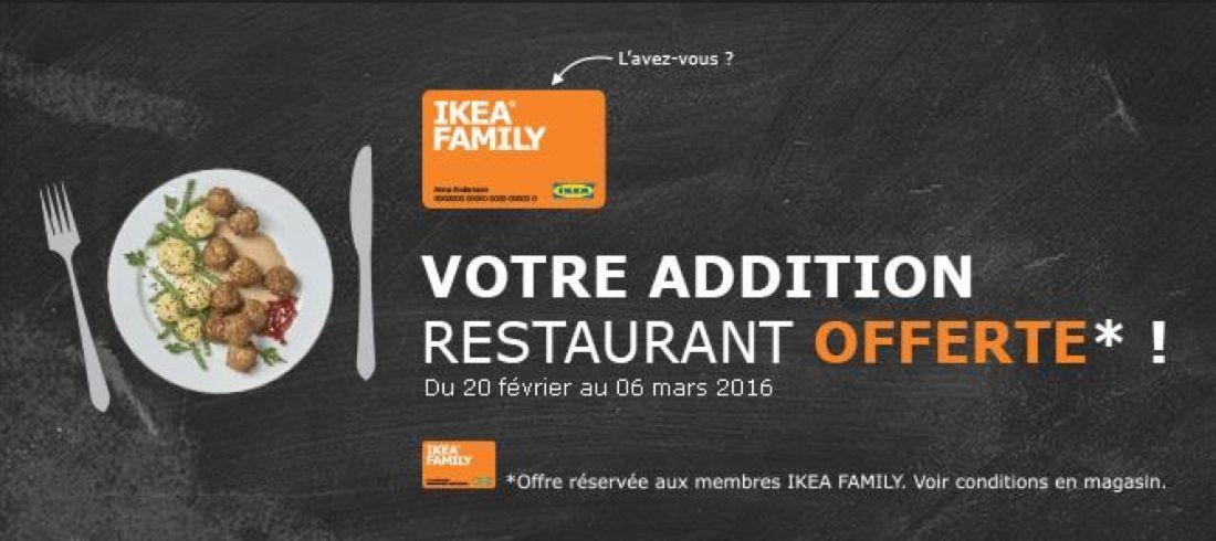 Ikea multiplie les services destination de ses clients for Repas familial ikea