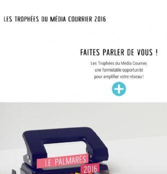 Trophées du Média Courrier 2016 : qui sont les lauréats?
