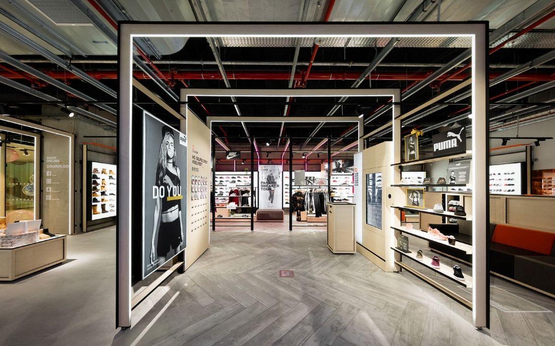 Courir inaugure son concept store