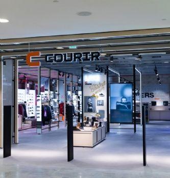 "Courir inaugure son concept-store ""Wood"" aux Halles"