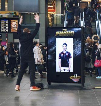 Les 5 meilleures campagnes d'affichage interactives