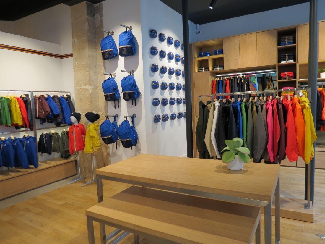 7235bf1dd2 Forte de son ambition d'ouvrir six à sept boutiques par an en France dans  les prochaines années, K-way a inauguré le 5 septembre dernier son  quatrième ...