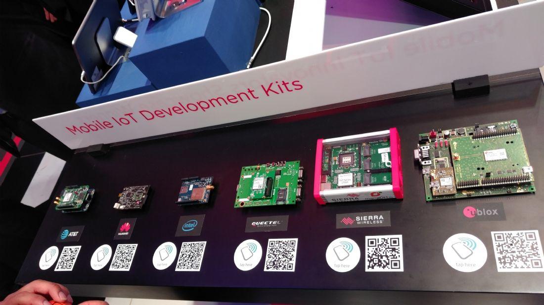 Kits de développement mobile IoT