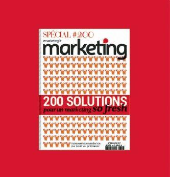 Marketing dévoile son 200e numéro avec ses partenaires