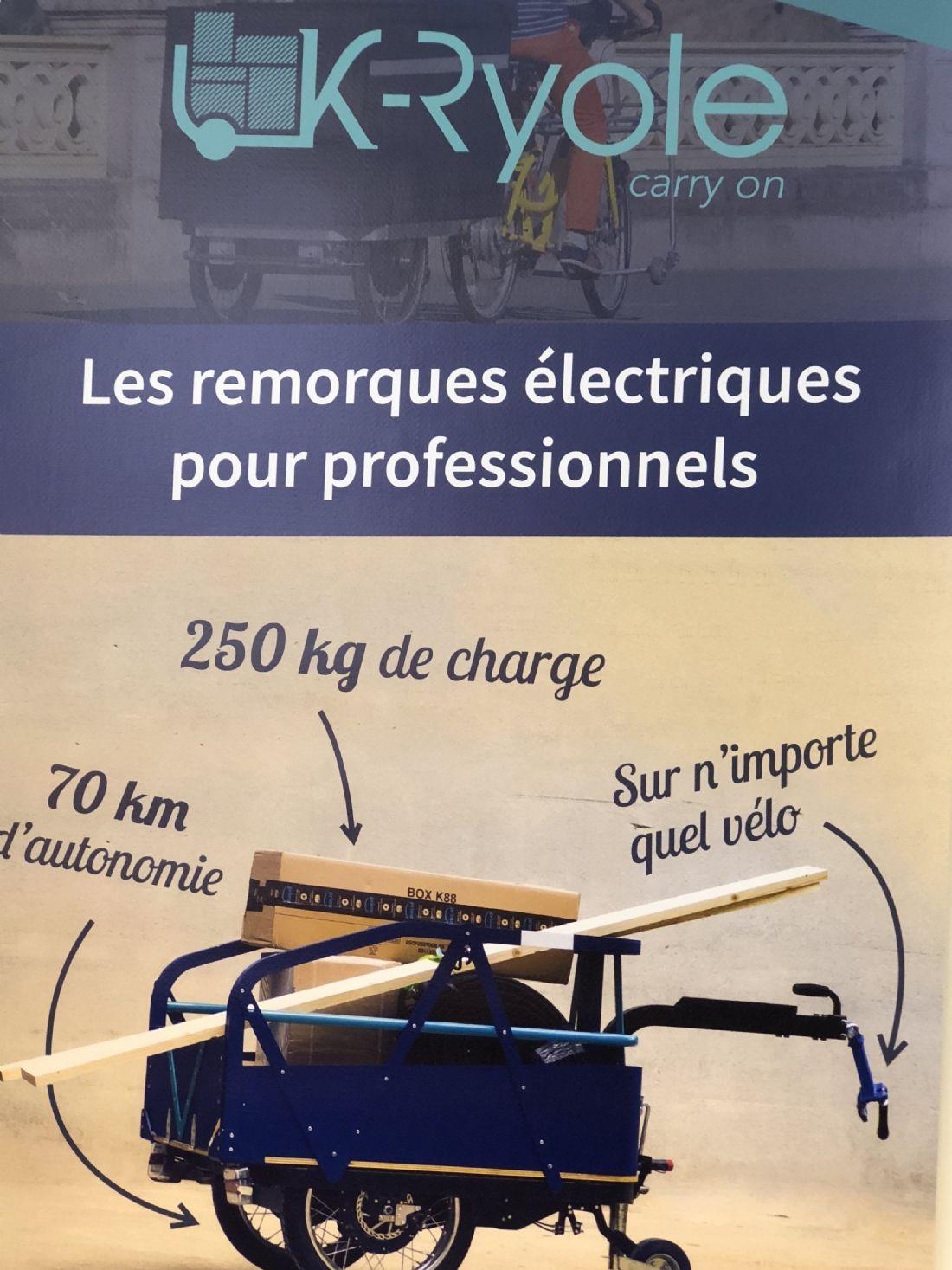 K-Ryole remorque électrique sécurisée