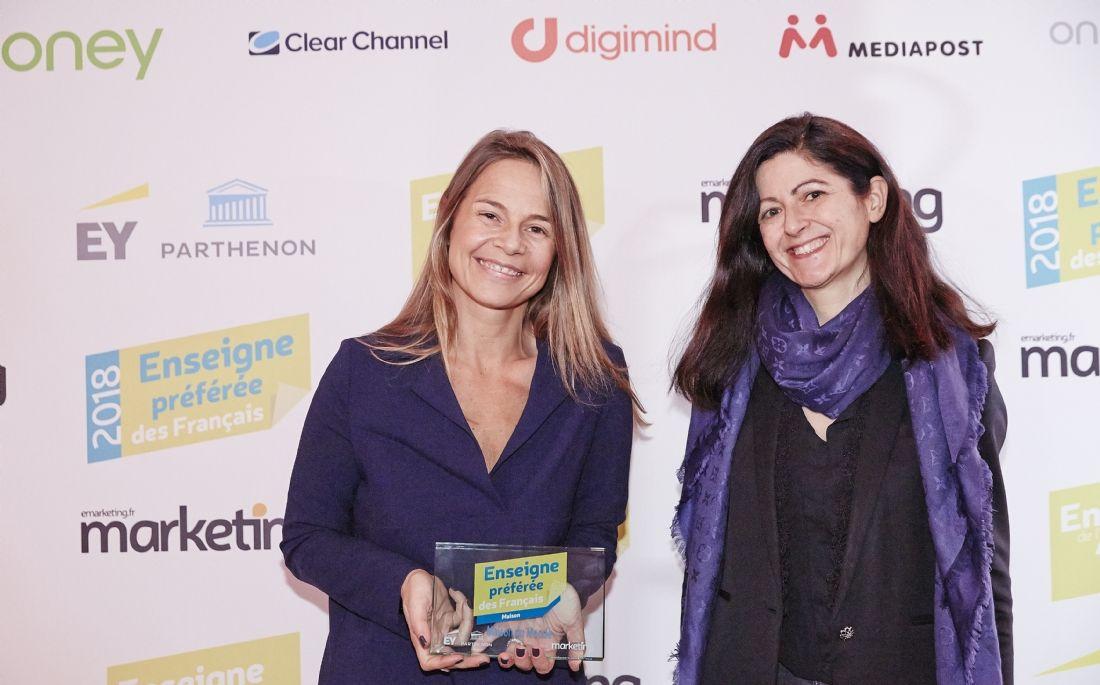 Anne-Laure Couplet, directrice de la marque (à gauche), et Clémentine Prat, directrice de la communication