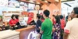 Un fast food Chicking ouvert en Malaisie