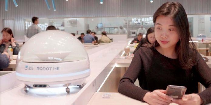 """#NRF2019 Plongée dans les hypermarchés """"Freshippo"""" d'Alibaba"""