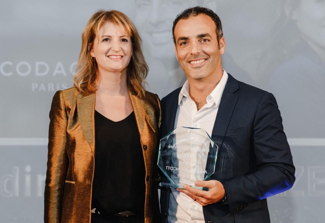 Olivia Buono (SAP Concur) et Julien Azencott (Codage)