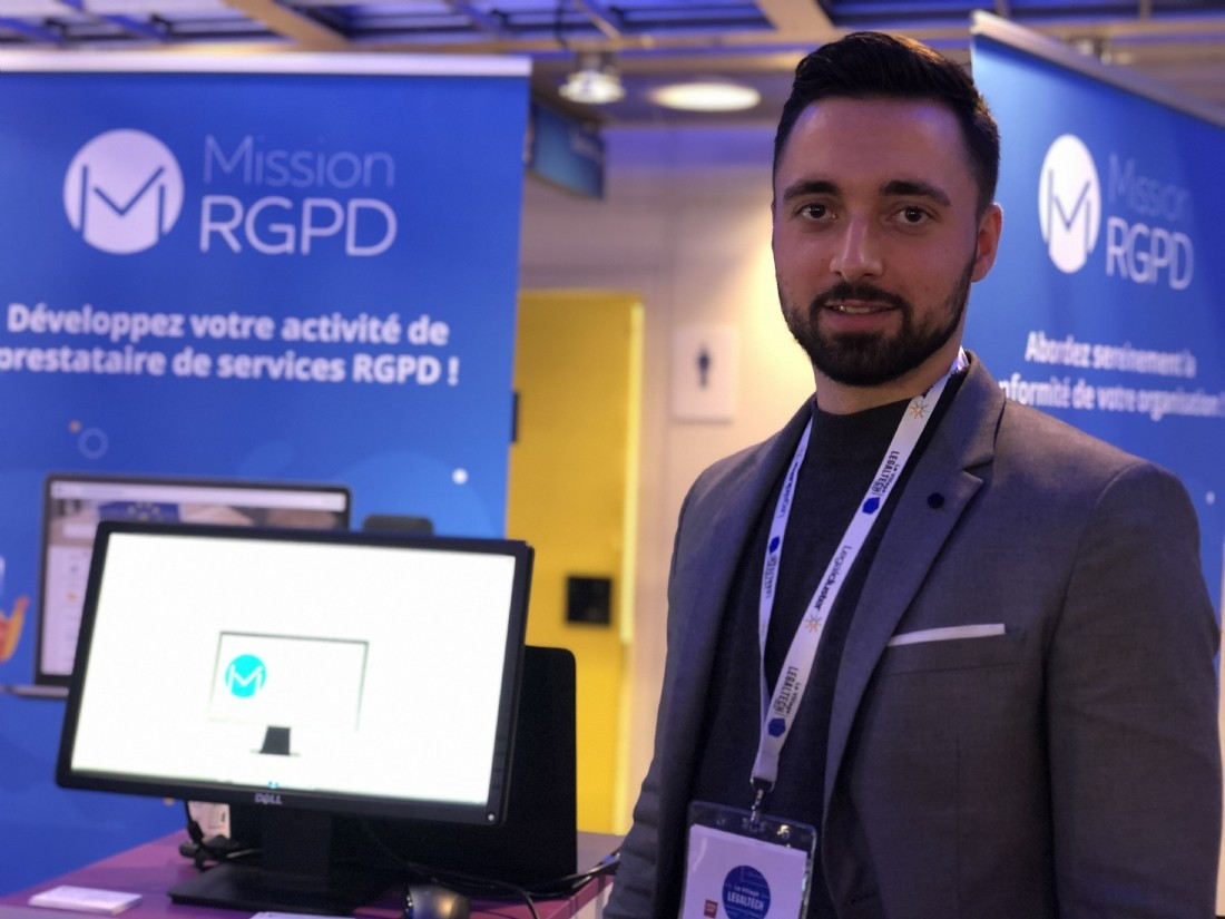 Aymeric Guyard, responsable commercial Mission RGPD