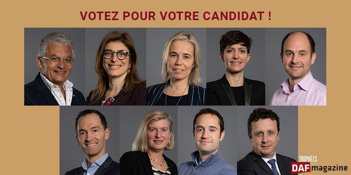 Trophées DAF 2019, découvrez les portraits des candidats !