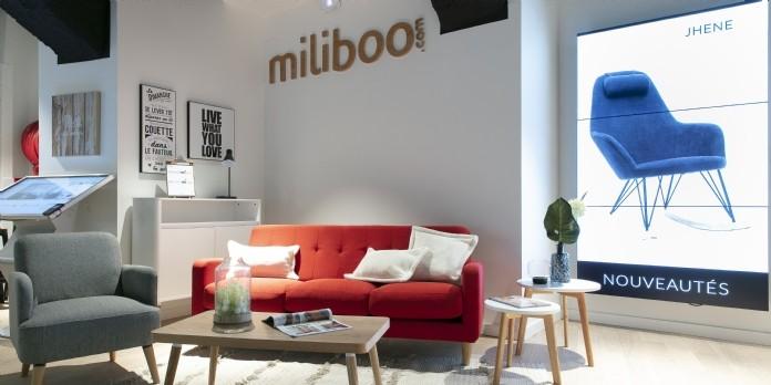 Miliboo inaugure son flagship connecté à Paris-La Madeleine