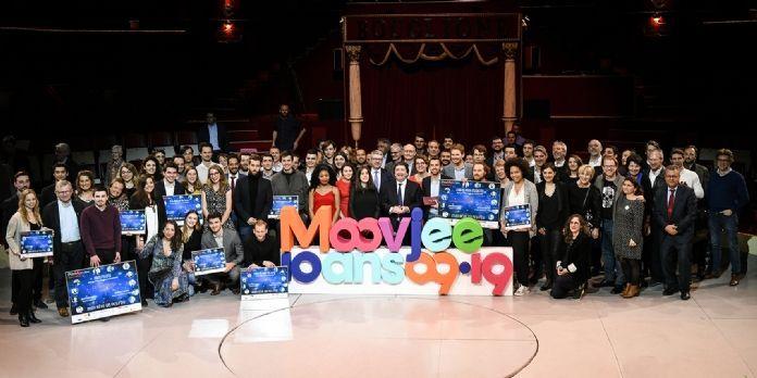 10 jeunes entrepreneurs récompensés lors des prix Moovjee 2019