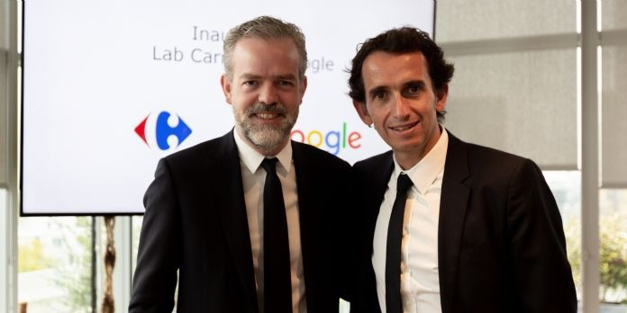 Le Lab Carrefour-Google ouvre ses portes