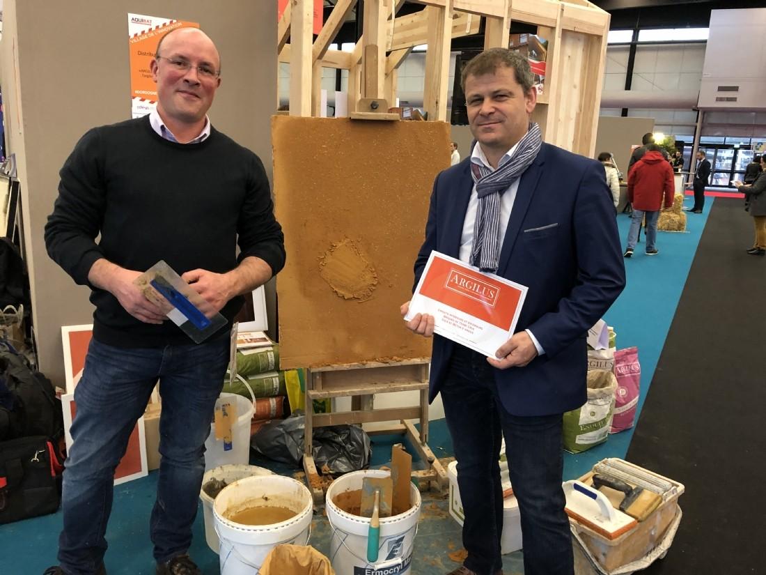 Michaël Jouin (à droite) et Damien Marchand(à gauche).