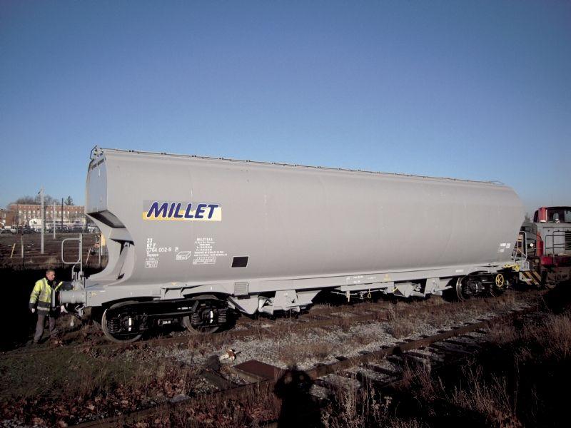 Des commandes de wagons céréaliers, de wagons-citernes et de conteneurs-citernes ont relancé l'activité de la société.