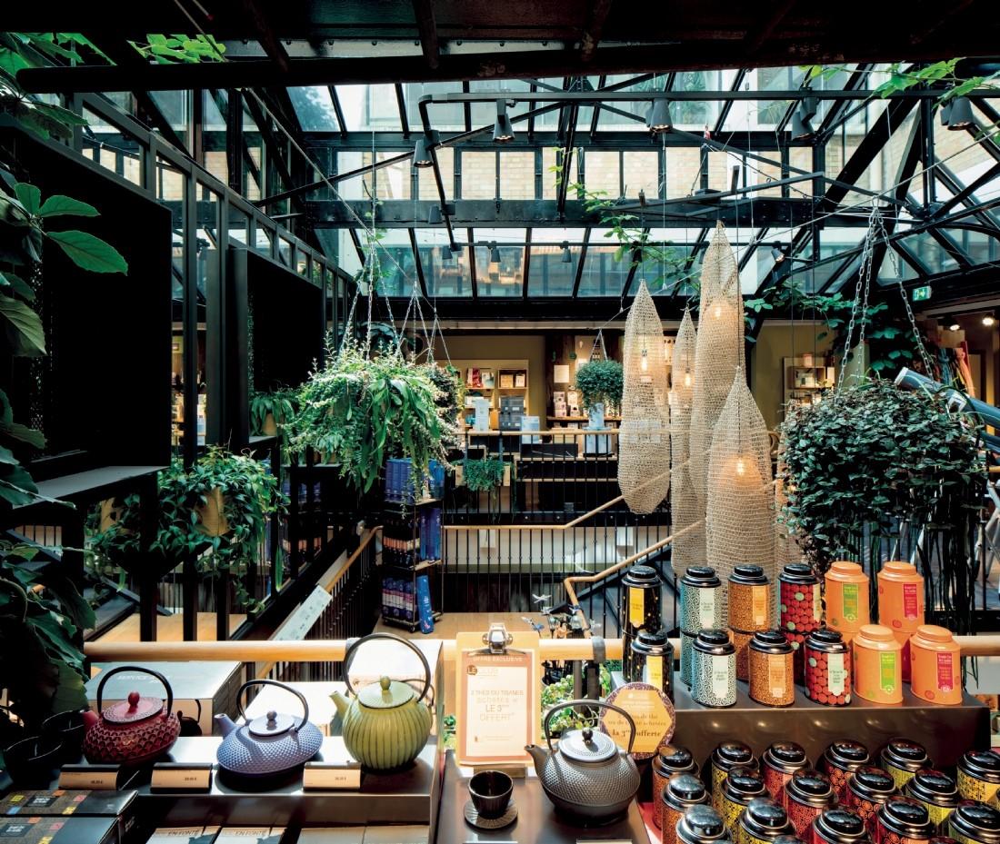 La boutique du Nature & Découvertes dans le quartier du Marais à Paris est emblématique de l'engagement de l'enseigne pour l'écologie.