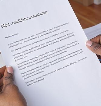 Comment rédiger une lettre de candidature spontanée ?