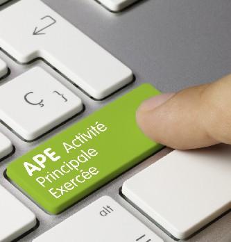 Quelle est la liste de code APE ?