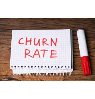 Qu'est-ce que le Churn rate (taux d'attrition) ?
