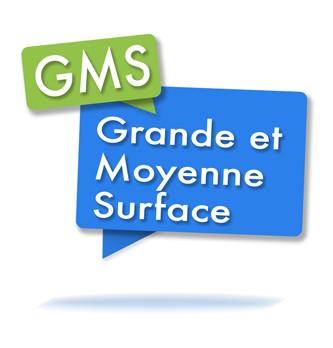 Comment différencier les grandes et moyennes surfaces (gms) ?
