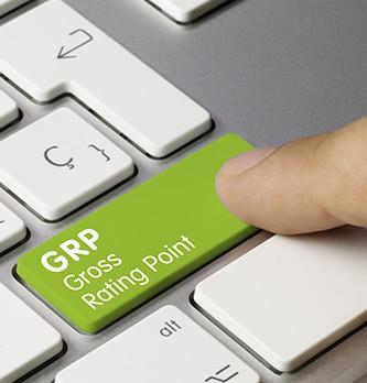 Qu'est-ce que le GRP (Gross Rating Point) ?