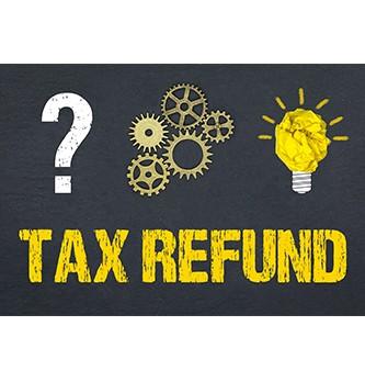 Quand est versée la restitution d'impôt ?